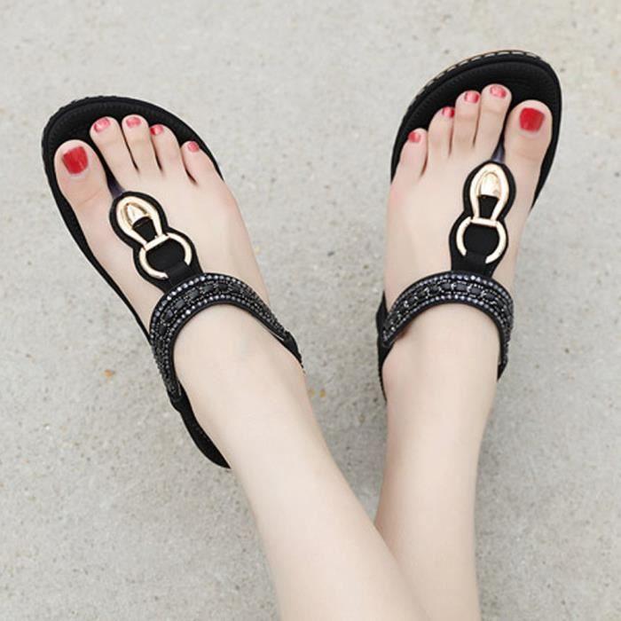 Bohme Tongs T Chaussures Plage Orteil Sandales Dames Clip Plates 2520 Sandles Chaussure qwC5txX4xn