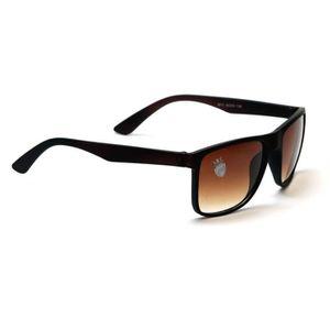 4c4386dc6a Lunettes de soleil carrées marron macho pour femmes PK64N - Achat ...