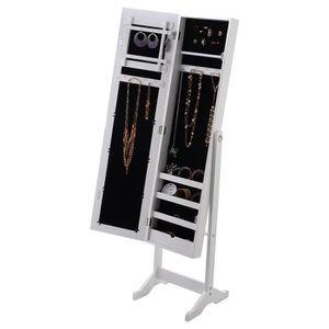 armoire a bijoux miroir achat vente armoire a bijoux miroir pas cher cdiscount. Black Bedroom Furniture Sets. Home Design Ideas