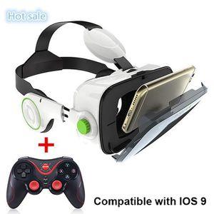 LUNETTES 3D BOBO VR Z4 Boîte 3D Lunettes de Réalité Virtuelle