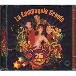 CD VARIÉTÉ FRANÇAISE La compagnie créole : Double album collector