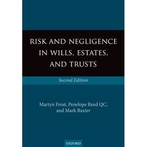 AUTRES LIVRES Risk & Negligence - Frost, Martyn