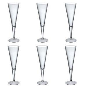 Coupe à Champagne Bormioli Rocco Ypsilon Flûte à champagne Lunettes