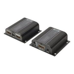 RÉGLAGE ANTENNE DIGITUS Professional DS-55100-1 HDMI Extender Set,