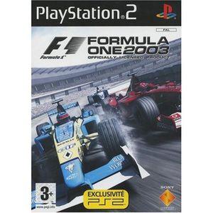 JEU PS2 Formula one 2003