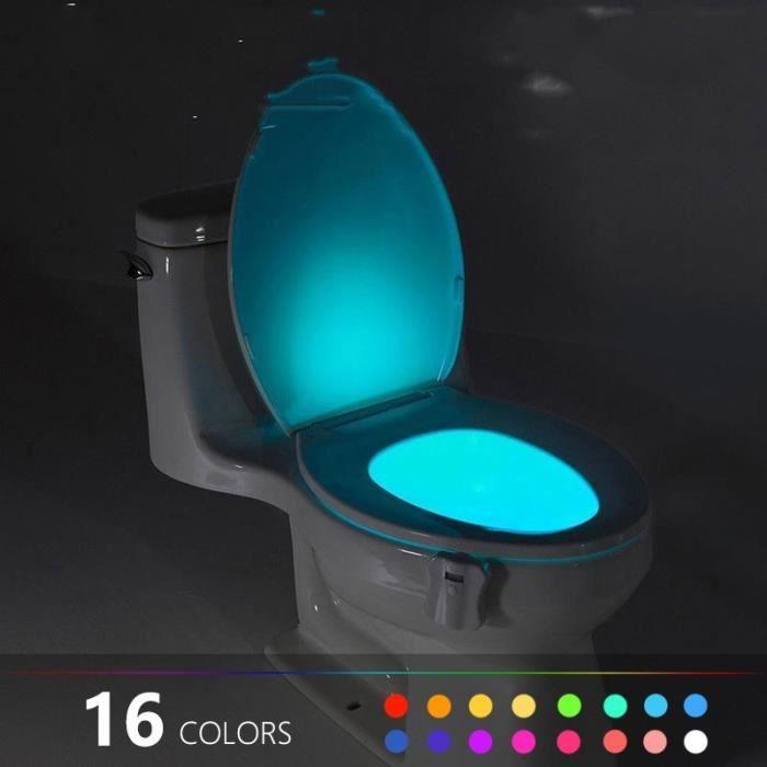Bain Lampe Corps De Automatique Sensor Wc Bol Motion Nuit Lumière Salle Led Détection CdBWrxoe