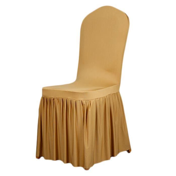 housses de chaises en spandex pour mariage anniversaire f te c r monie achat vente housse de. Black Bedroom Furniture Sets. Home Design Ideas