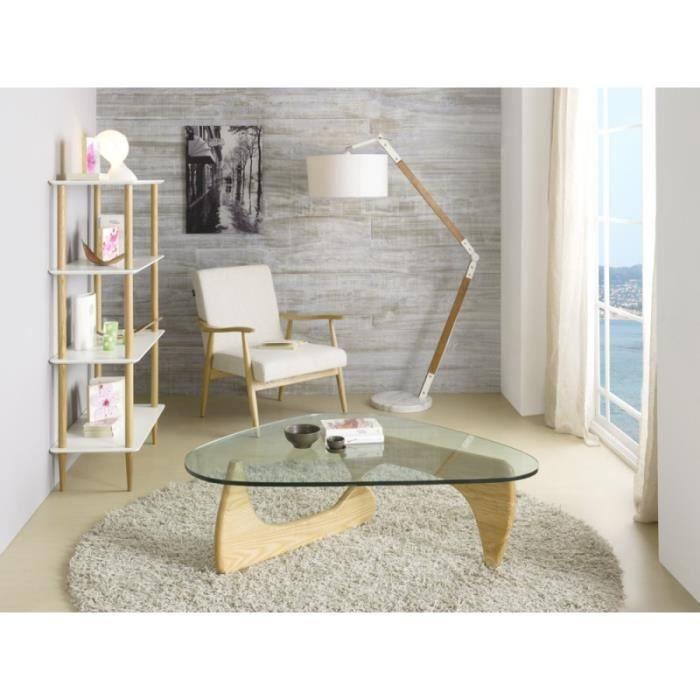 lampadaire interieur pied en bois achat vente pas cher. Black Bedroom Furniture Sets. Home Design Ideas