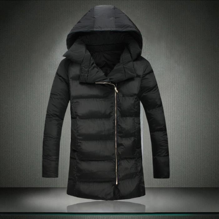 4729b677add Parka homme longue veste doudoune manteau
