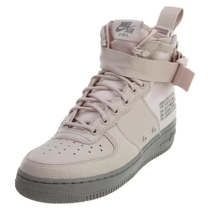 big sale 10902 0c091 Nike Wmns Sf Air Force 1 Mid Sneakers Casual KRFV9 Taille-40 1-2