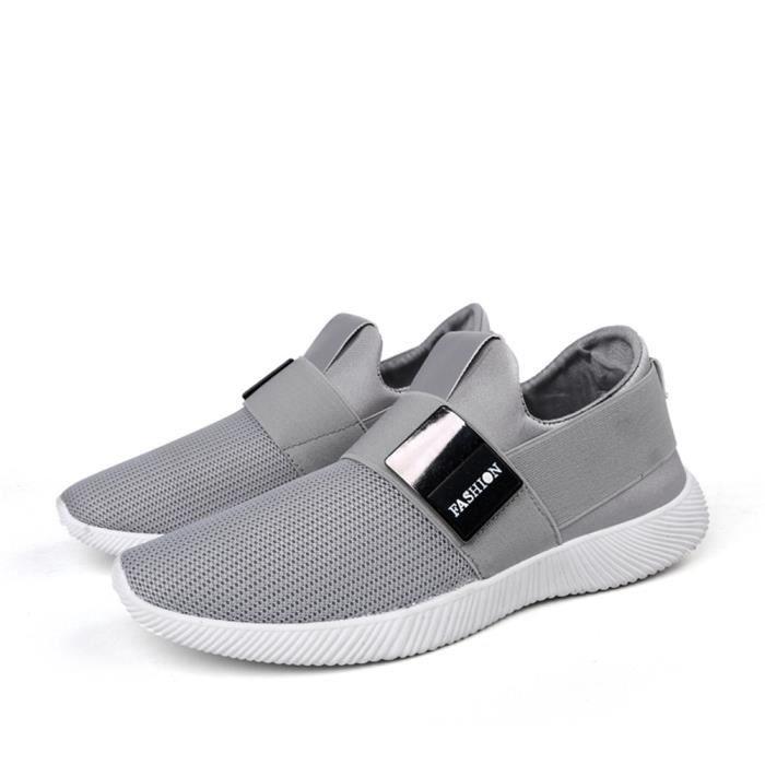 Chaussures De Sport Pour Femme en daim Textile De Course Durable XX-XZ127Bleu40 ImKXY