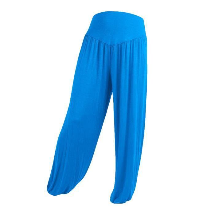 Coton Femmes Souples Yoga Sport Danse Élastiques Doux 1060 Casual Harem Pantalons dxCBeo