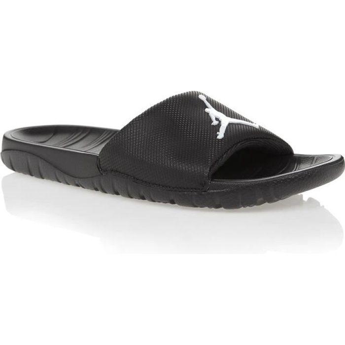 19259d998678a Claquettes Jordan Break Slide Noir Noir - Achat / Vente tong ...