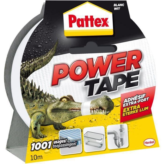 adh sif super puissant power tape pattex blanc l10 achat. Black Bedroom Furniture Sets. Home Design Ideas