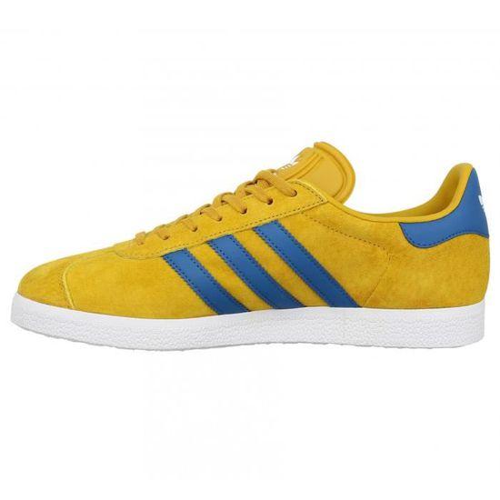 adidas gazelle homme jaune