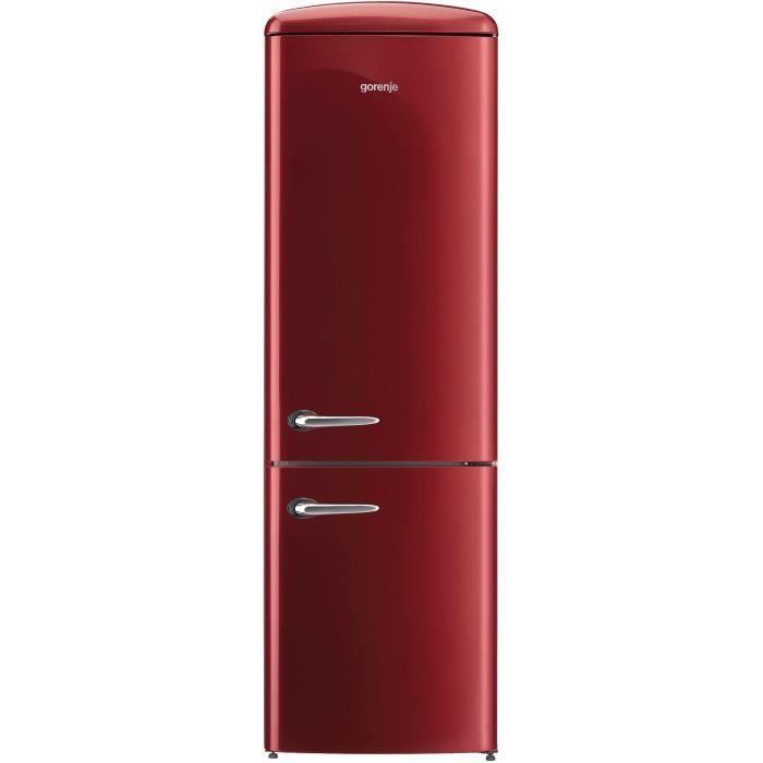 GORENJE ORK-192R Réfrigérateur congélateur bas-322 L (227L + 95L)-Froid brassé / statique-A++-L 60 x
