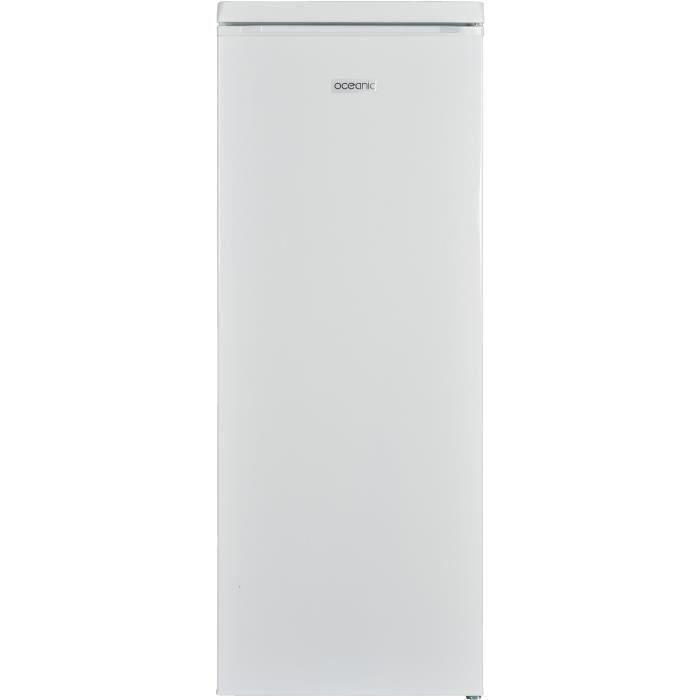 Réfrigérateur/congélateur-1 porte-192L (175L+17L)-Froid statique-A+-L54 x H124,5cm-Dégivrage automatique-BlancREFRIGERATEUR CLASSIQUE