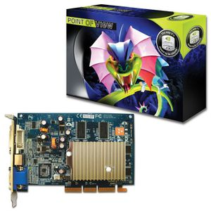 CARTE GRAPHIQUE INTERNE Point of View Nvidia GeForce FX5500 256 Mo DDR