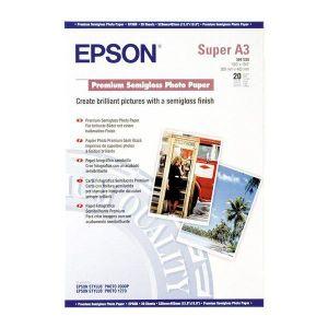 EPSON Premium Pack de 1 Papier photo brillant - 20 feuilles - A3+ - 250g/m2