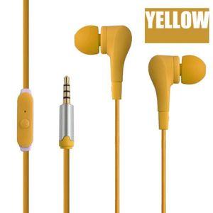 CASQUE - ÉCOUTEURS 3,5 mm Universal In-Ear stéréo écouteurs écouteurs