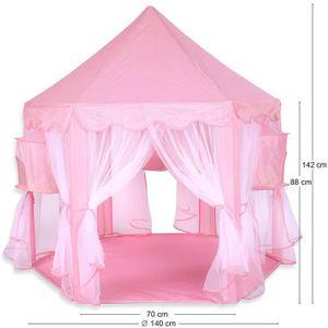 tente maison enfant achat vente jeux et jouets pas chers. Black Bedroom Furniture Sets. Home Design Ideas