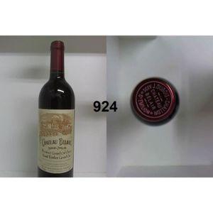 VIN ROUGE Château Bélair 2001 - Casier : 924