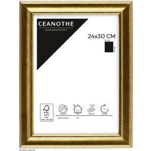 CADRE PHOTO Cadre photo Doré 24x30 cm - Ceanothe, marque franç