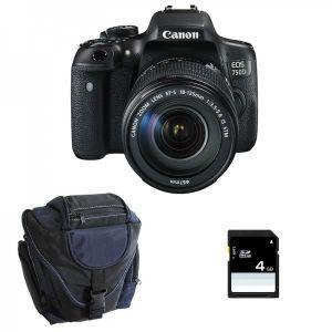 APPAREIL PHOTO RÉFLEX CANON EOS 750D + Objectif EF-S 18-135 mm f/3,5-5,6