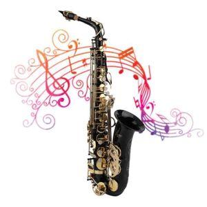 SAXOPHONE Saxophone Alto Mib Sax Set Durable Instrument de M