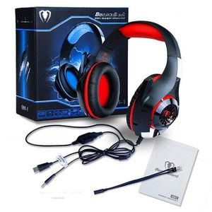CASQUE AVEC MICROPHONE Beexcellent GM-1 Gaming Headphone 3.5 MM USB Filai