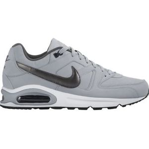 best website ffeab 5f457 BASKET NIKE Baskets Air max Command Leather - Homme - Gri
