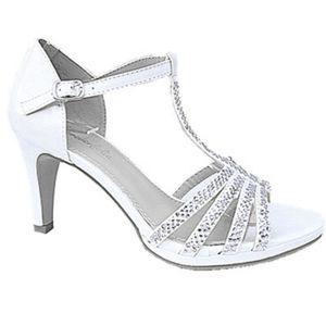 Fashionfolie888 - Sandale talon aiguille escarpins soirée strass mariage femme chaussures 3003-26 DORE ftZN7GUH