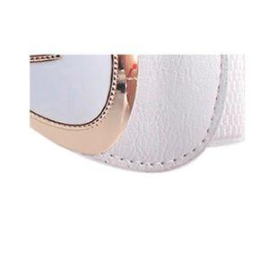 01f4a93e0e2 CEINTURE ET BOUCLE Femmes Mode bowknot Boucle large ceinture extensib