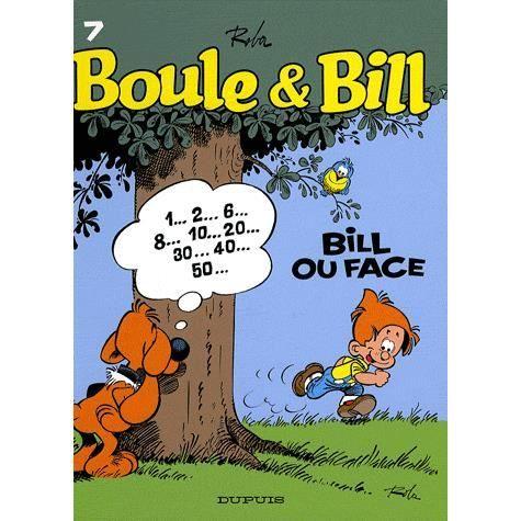 BANDE DESSINÉE Boule et Bill Tome 7