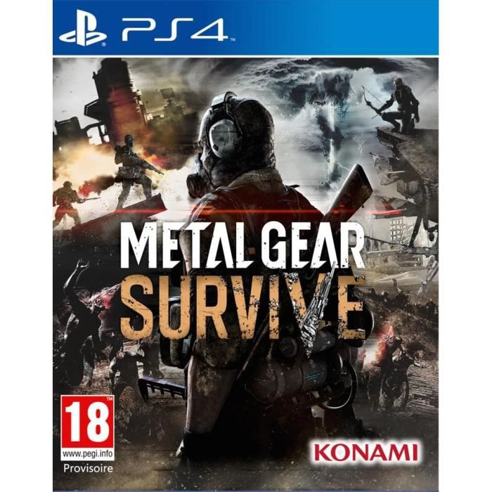 Metal Gear Survive Jeu PS4