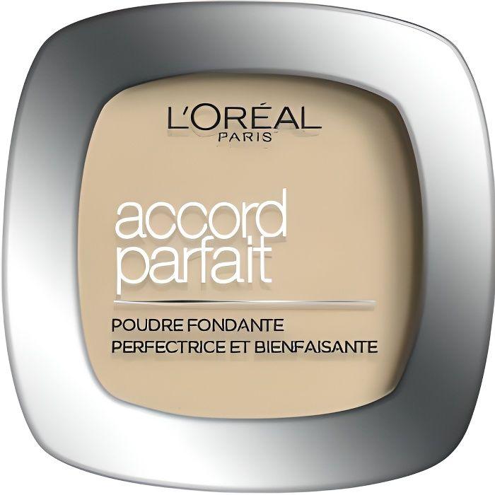 L'ORÉAL PARIS - Accord Parfait La Poudre 5.D Sable Doré - 9g