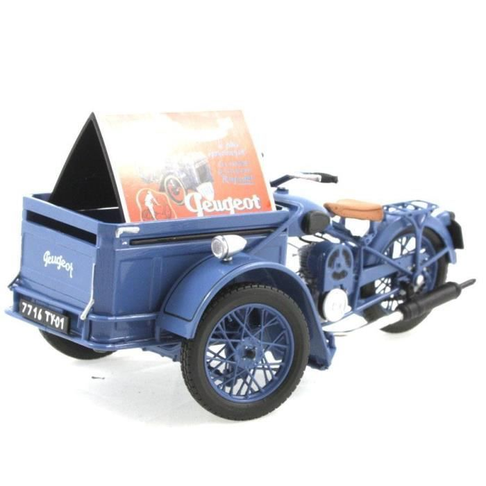 moto miniature peugeot triporteur 55 tn 1952 1 18 solido. Black Bedroom Furniture Sets. Home Design Ideas