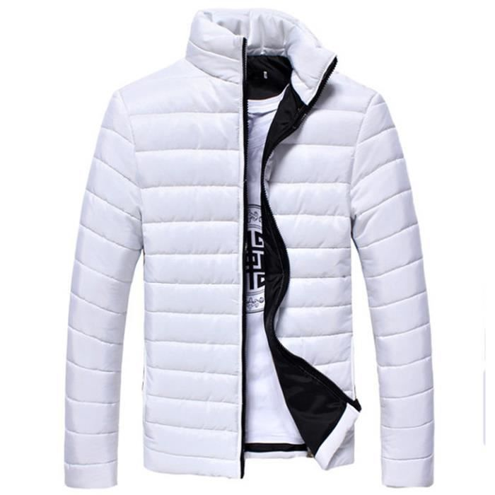 Homme L'hiver O Urban Pour Blanc Achat Classic Blouson Bleu 7qxwtnO5Y