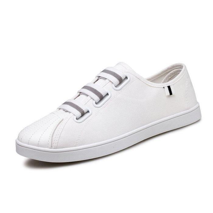 Compensé 883 Homme Casual blanc éLéGant De AntidéRapant Un R45469960 Chaussure Deluxe Look Mode On 43 Ville Slip Fw7qa