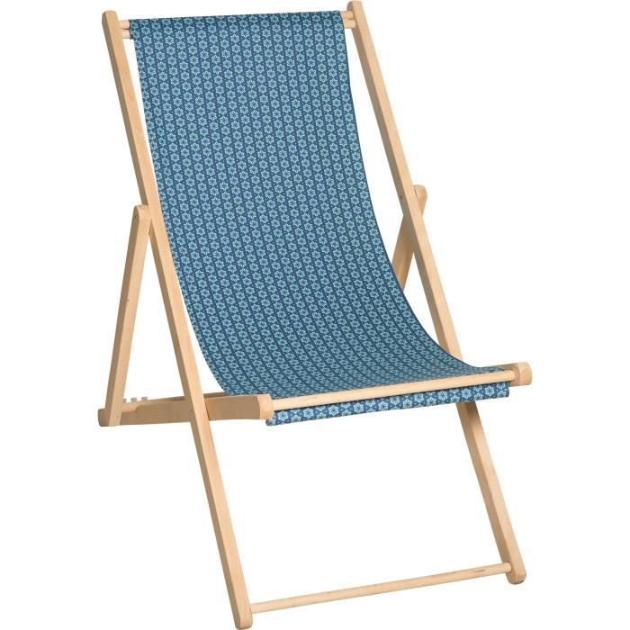 Chaise Bleu Vente Prive Longue Chilienne Jardin Kelly Achat yYb7f6g