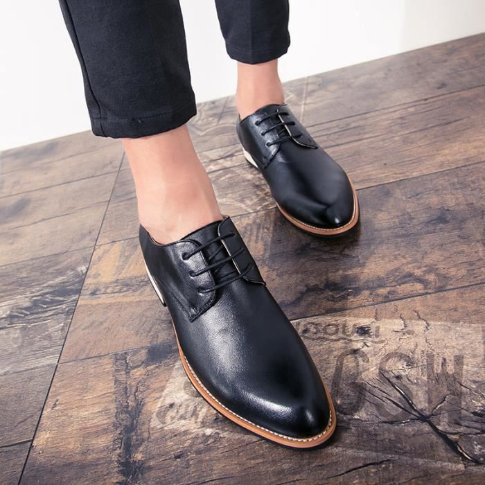 Mocassins pour homme Chaussures mode Chaussures de villeChaussures pour costume Chaussures officieles Chaussures confortables nkOTKLG