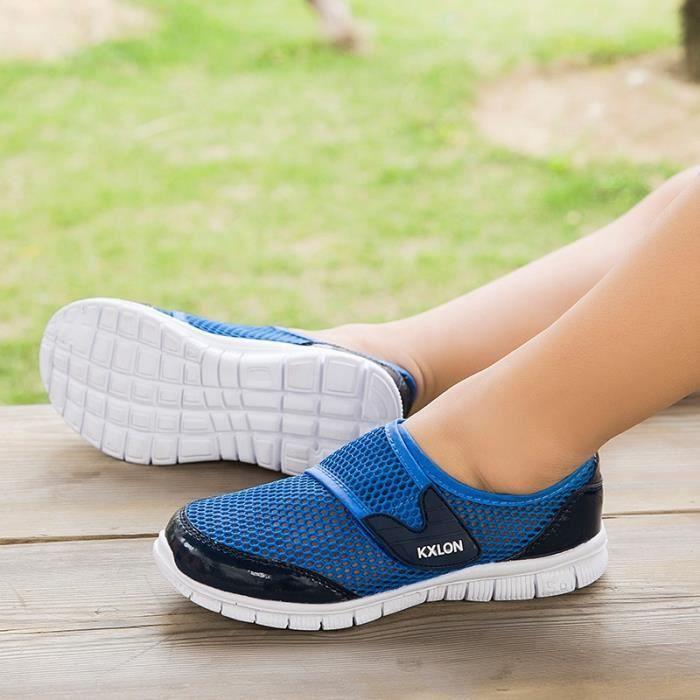 Chaussures pour enfants Casual 2016 Vente Hot Boy et chaussures de sport de fille Mode Kid Mesh respirant Sport Chaussures