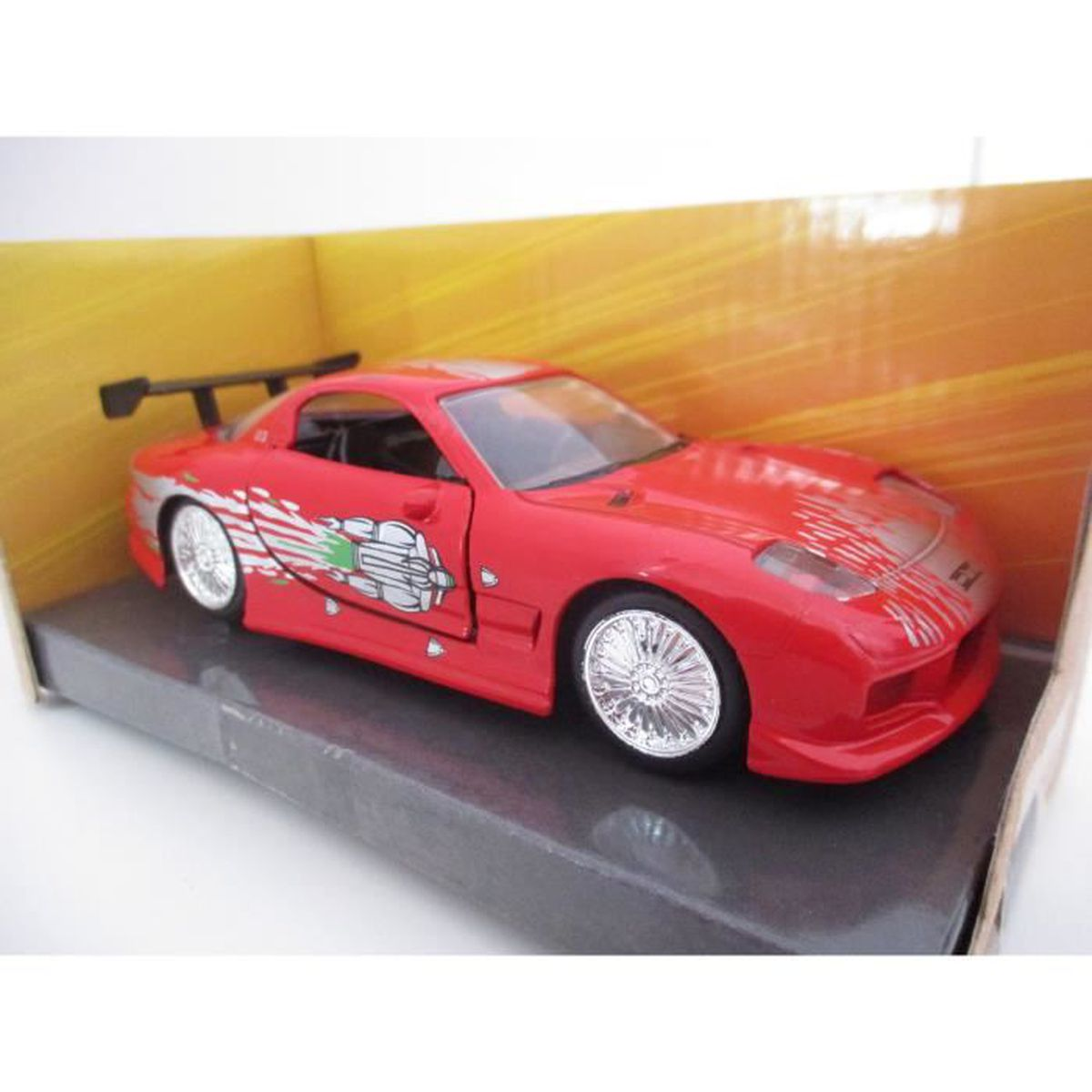 JADA-MAZDA RX7 1/32 DOM'S FAST AND FURIOUS 1 - Achat / Vente voiture