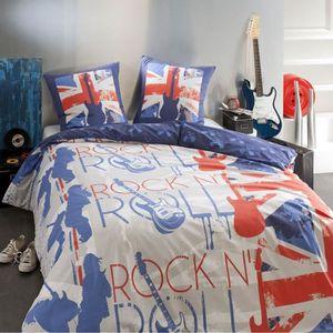 DRAP HOUSSE POP LONDON - Drap housse 100% coton (90x190cm)