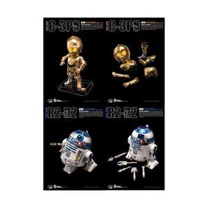 FIGURINE - PERSONNAGE Beast Kingdom Toys - Star Wars - Pack 2 figurines