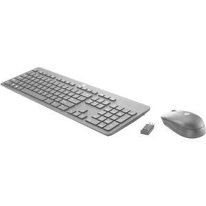 CLAVIER D'ORDINATEUR HP Slim Ensemble clavier et souris sans fil 2.4 GH