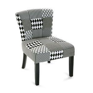 fauteuil patchwork achat vente fauteuil patchwork pas cher cdiscount. Black Bedroom Furniture Sets. Home Design Ideas