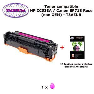 TONER Toner générique Canon EP718 Magenta pour imprimant
