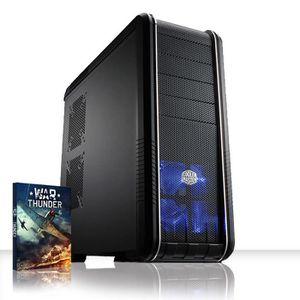 UNITÉ CENTRALE  VIBOX Mercury 49 PC Gamer - AMD 8-Core, Geforce GT