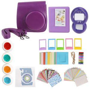 PELLICULE PHOTO 9 en 1 Polaroid Mini8 ensemble d'accessoires (Viol